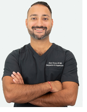 Dr. Oliver Grover, Chiropractor & Acupuncturist
